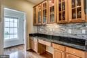 detailed backsplash - 25647 S VILLAGE DR, CHANTILLY