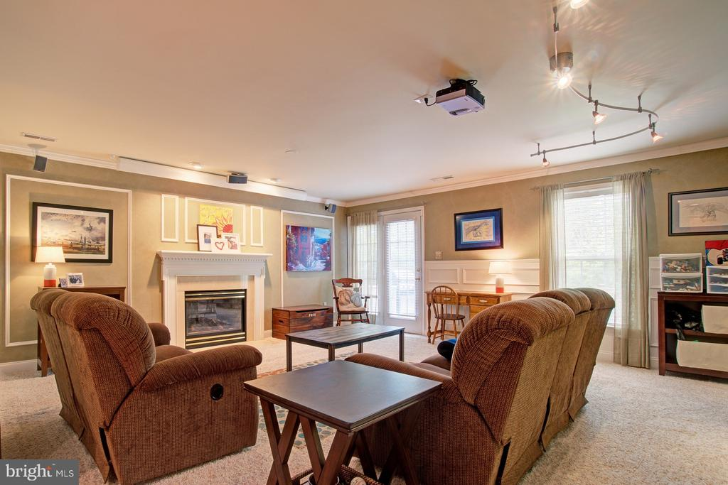 Exceptionally Finished Basement - 42834 MEANDER CROSSING CT, BROADLANDS