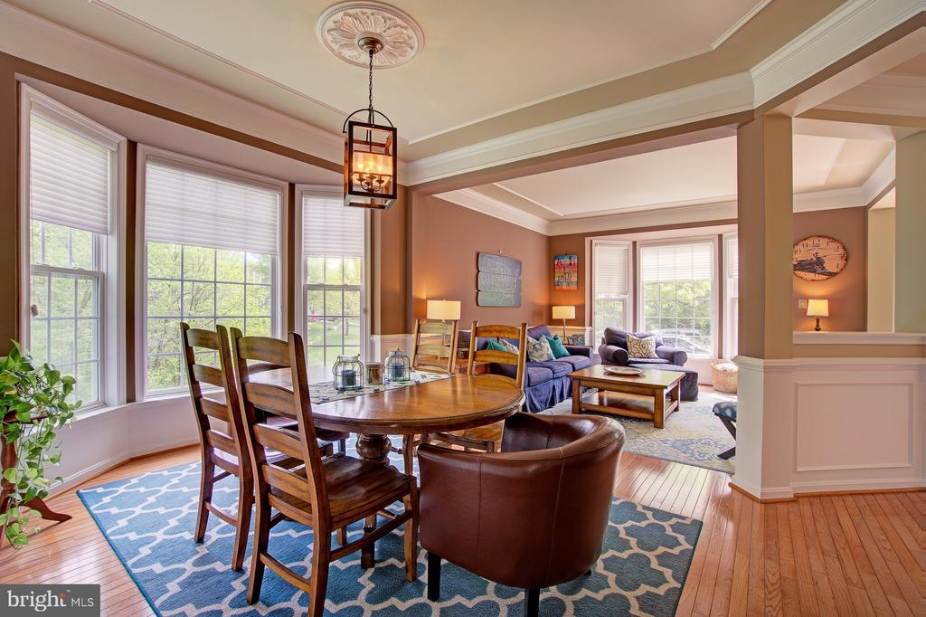 Beautiful Light Filled Dining Room - 42834 MEANDER CROSSING CT, BROADLANDS