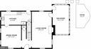 Main Level Floor Plan - 1800 HUNTING COVE PL, ALEXANDRIA