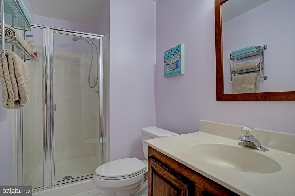 Full bath on lower level - 6900 COMPTON VALLEY CT, CENTREVILLE