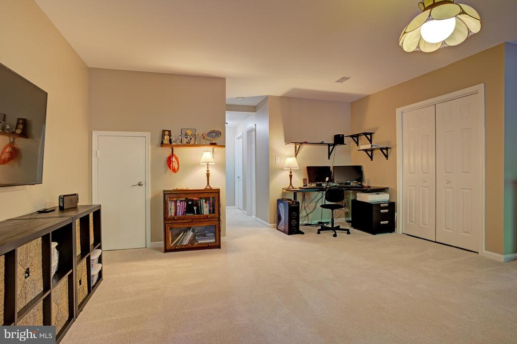 Lower level rec room - 6900 COMPTON VALLEY CT, CENTREVILLE
