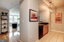 Inviting entry space - 715 6TH ST NW #1003, WASHINGTON