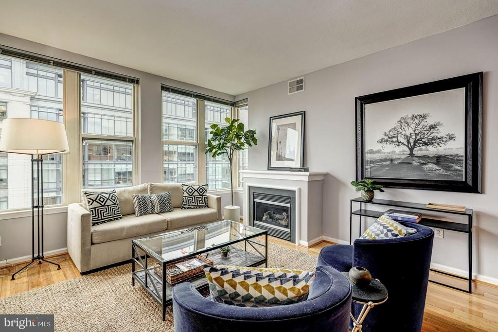 Welcome Home! Sun soaked, 10th floor condo - 715 6TH ST NW #1003, WASHINGTON