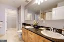 Master bath with double sinks - 715 6TH ST NW #1003, WASHINGTON