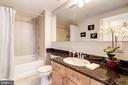 Spa-inspired bathroom with large tub - 715 6TH ST NW #1003, WASHINGTON