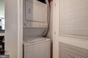 In unit washer and dryer - 715 6TH ST NW #1003, WASHINGTON