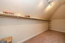 Master Walk In Closet - 7919 N PARK ST, DUNN LORING