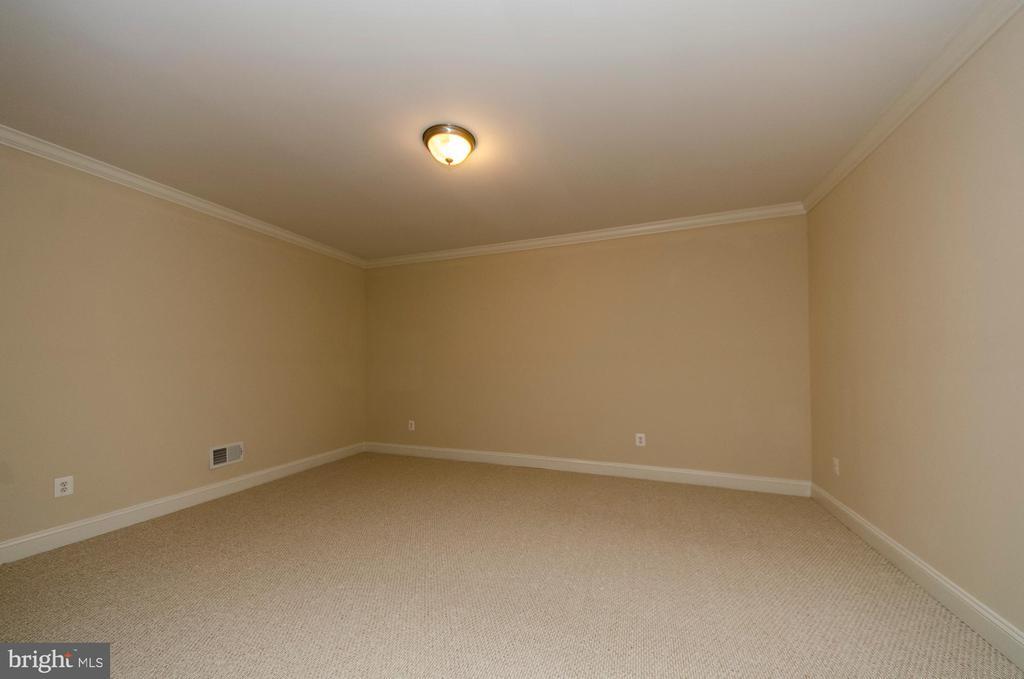 Lower Level Media Room - 7919 N PARK ST, DUNN LORING