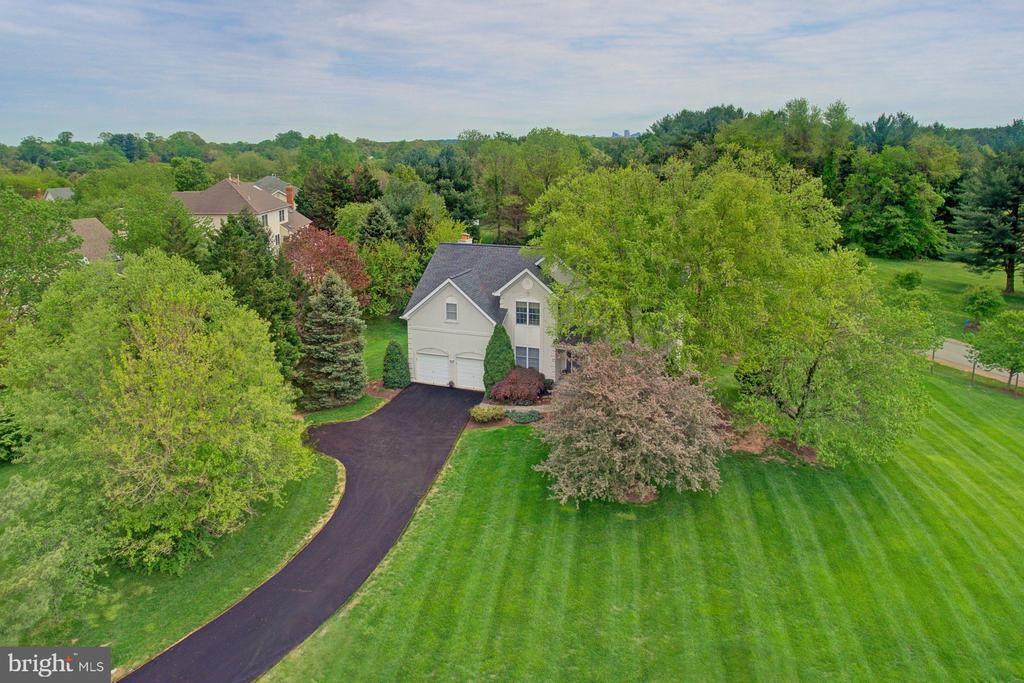 Rarely found .93 acre lot, level and private. - 10753 BLAZE DR, RESTON