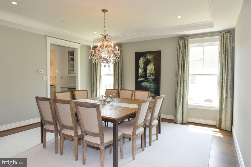 Dining Room - 5211 CARLTON ST, BETHESDA