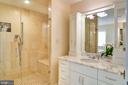 Master Shower - 5211 CARLTON ST, BETHESDA