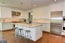 Kitchen with Stainless Steel Appliances - 5211 CARLTON ST, BETHESDA
