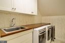 Second Floor Laundry Room - 5211 CARLTON ST, BETHESDA