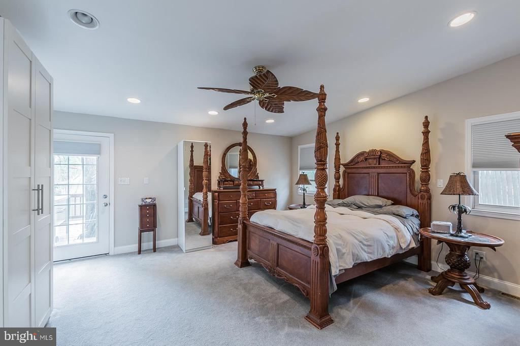 Master Bedroom - 7425 TILLMAN DR, FALLS CHURCH