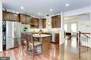 Open kitchen - 3814 HANSBERRY CT NE, WASHINGTON