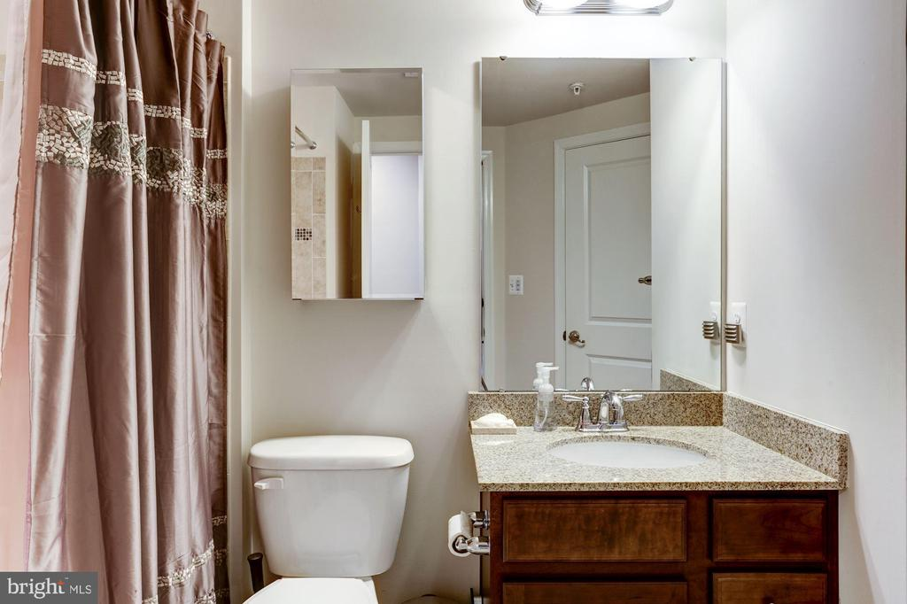 Upper level hall bath - 3814 HANSBERRY CT NE, WASHINGTON