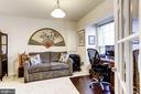 Lower level den/bedroom - 3814 HANSBERRY CT NE, WASHINGTON