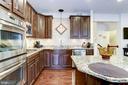 Kitchen Island - 3814 HANSBERRY CT NE, WASHINGTON