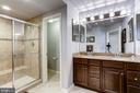 Upgraded Master Bath - 3814 HANSBERRY CT NE, WASHINGTON