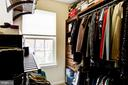 Closet with custom organizers - 3814 HANSBERRY CT NE, WASHINGTON