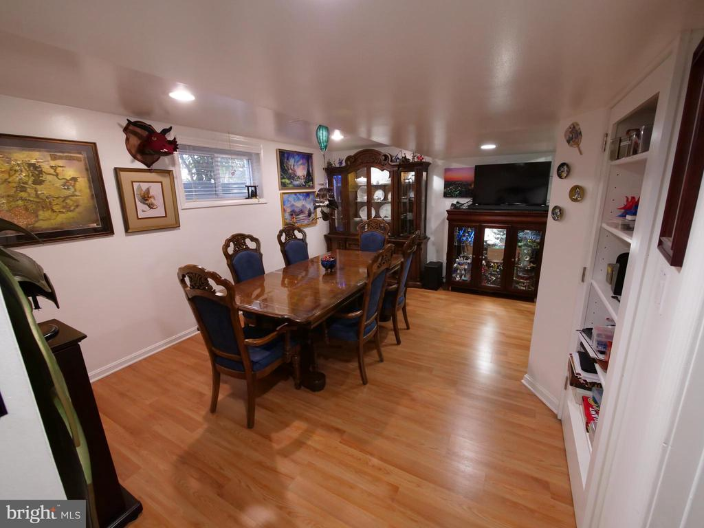 Basement when furnished - 7425 TILLMAN DR, FALLS CHURCH