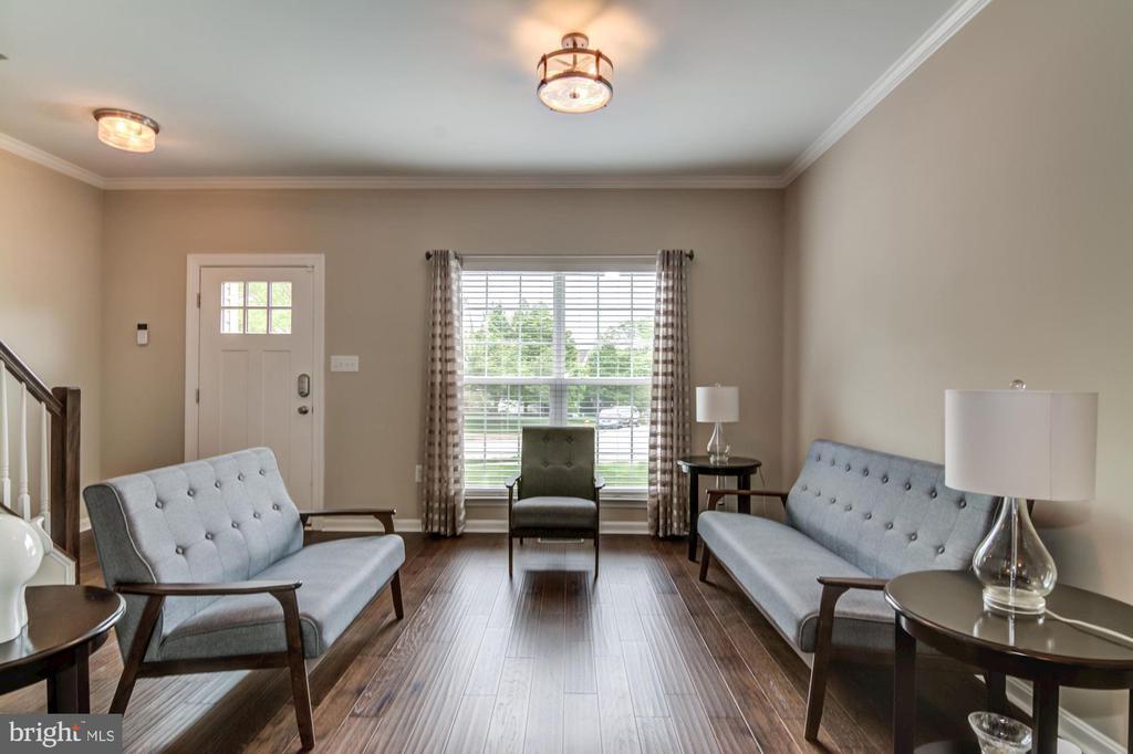 Entry into bright and spacious floorplan - 15536 BOAR RUN CT, MANASSAS