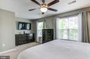 Master bedroom - 15536 BOAR RUN CT, MANASSAS