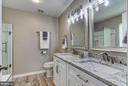 Completely remodeled master bathroom - 15536 BOAR RUN CT, MANASSAS