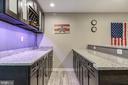 Beverage fridge and sink - 15536 BOAR RUN CT, MANASSAS