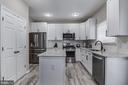 Pantry space and new cabinetry - 15536 BOAR RUN CT, MANASSAS