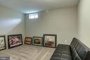 Den for guests, theatre room or work out space - 15536 BOAR RUN CT, MANASSAS