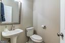 Half bath on main level - 15536 BOAR RUN CT, MANASSAS