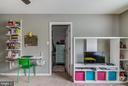 Bedroom #4 with walk in closet - 15536 BOAR RUN CT, MANASSAS