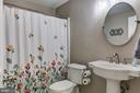Full bathroom in basement - 15536 BOAR RUN CT, MANASSAS