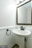 Updated Powder Room - 9310 E CARONDELET DR, MANASSAS PARK