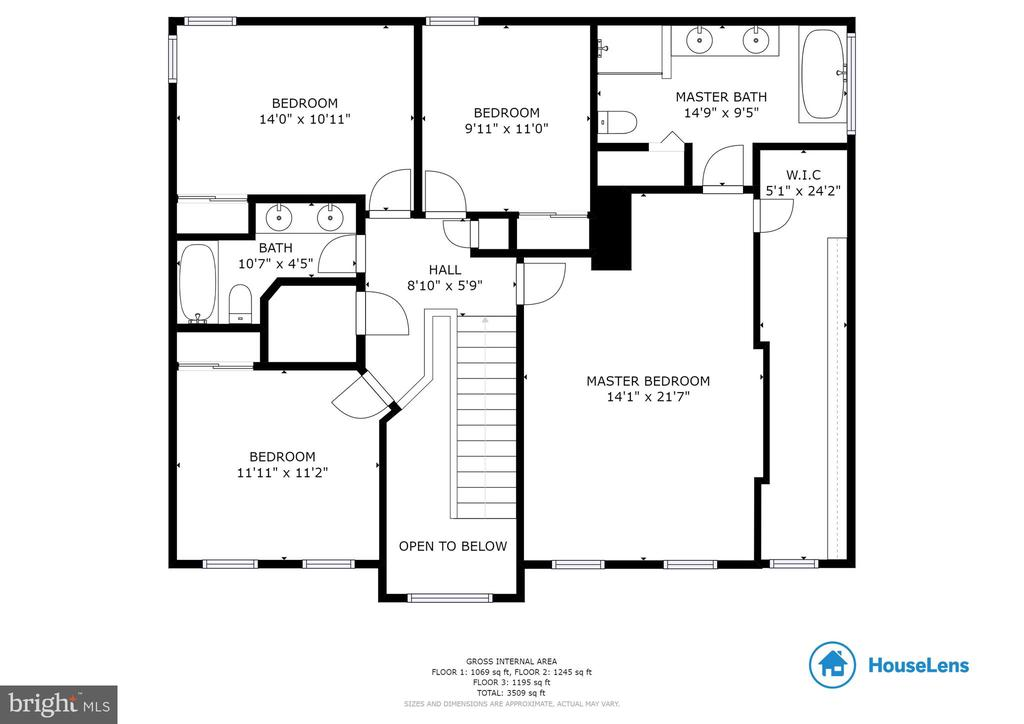 Main Level Floorplan - 9310 E CARONDELET DR, MANASSAS PARK