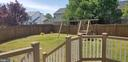 Backyard View from Trex Deck - 9310 E CARONDELET DR, MANASSAS PARK