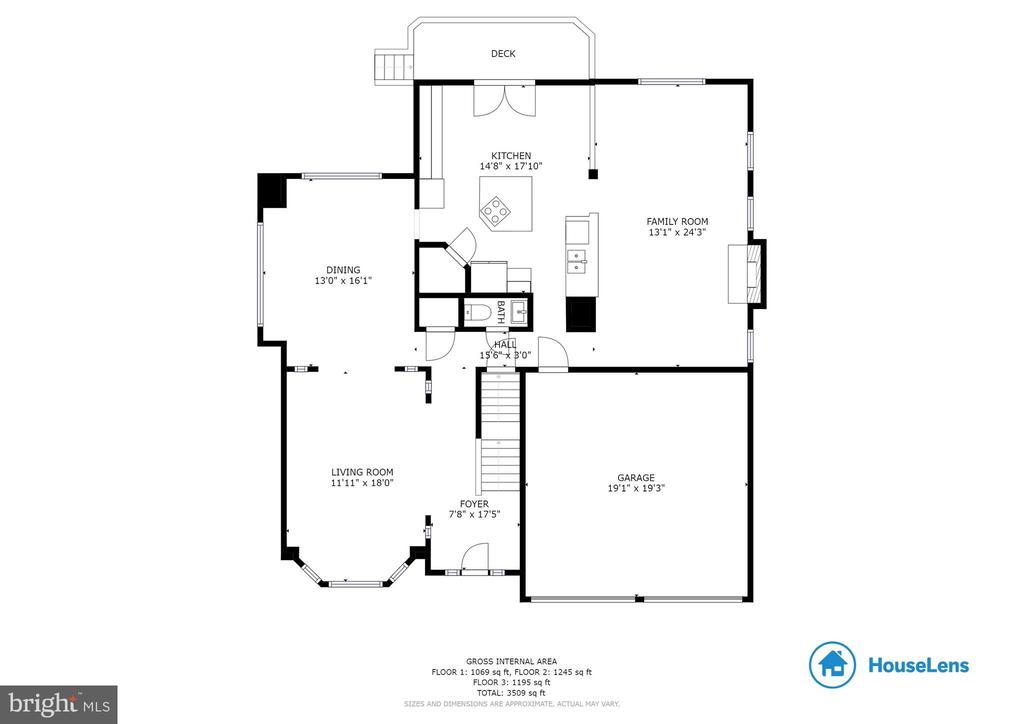 Upper Level Floorplan - 9310 E CARONDELET DR, MANASSAS PARK