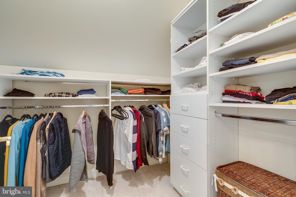 Huge walk in closet - 12709 OX MEADOW DR, HERNDON