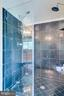 Master Bathroom with marble tiles - 12709 OX MEADOW DR, HERNDON