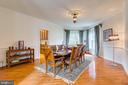Dining Room - 12709 OX MEADOW DR, HERNDON