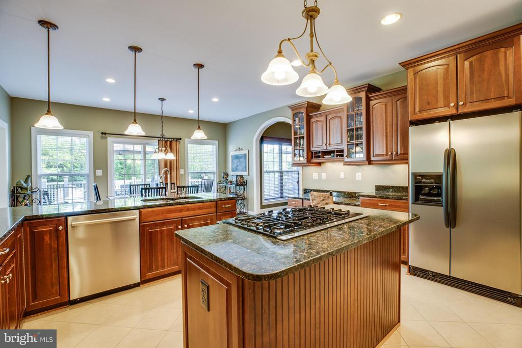 Gourmet Kitchen - 46 ALDERWOOD DR, STAFFORD