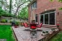 Beautiful, private patio - 1734 N GEORGE MASON DR, ARLINGTON