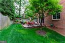 Private backyard - 1734 N GEORGE MASON DR, ARLINGTON