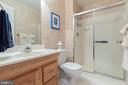Basement Full Bath - 15616 NEATH DR, WOODBRIDGE