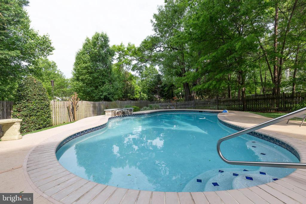 Pool - 15616 NEATH DR, WOODBRIDGE