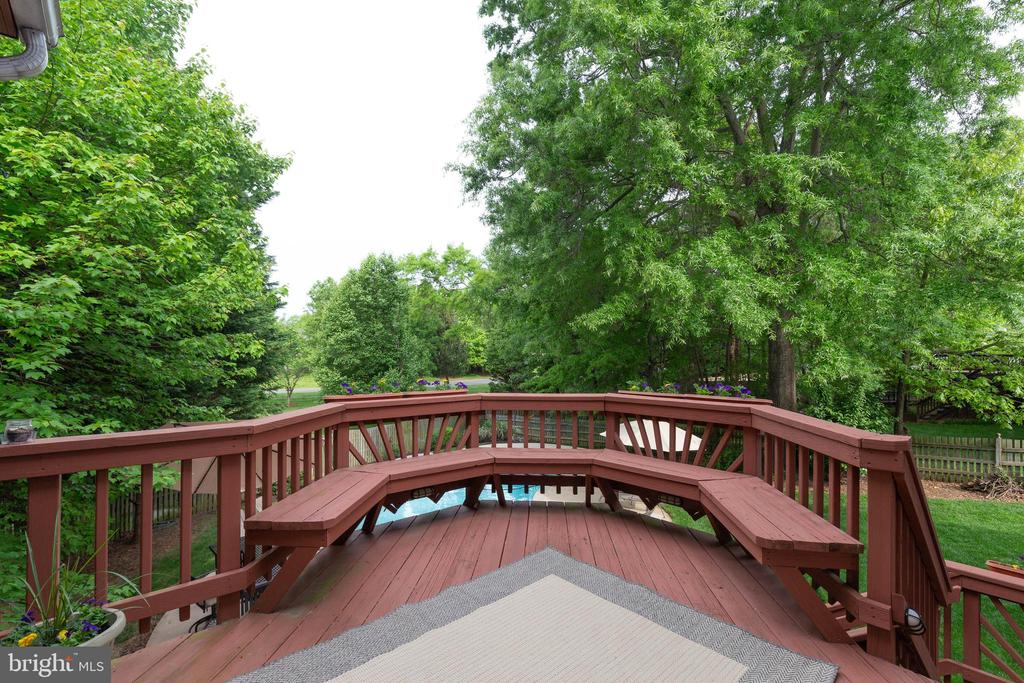 Deck - 15616 NEATH DR, WOODBRIDGE