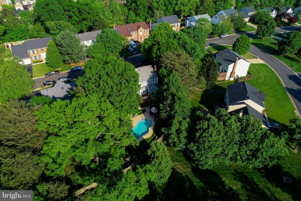 Aerial View - 15616 NEATH DR, WOODBRIDGE