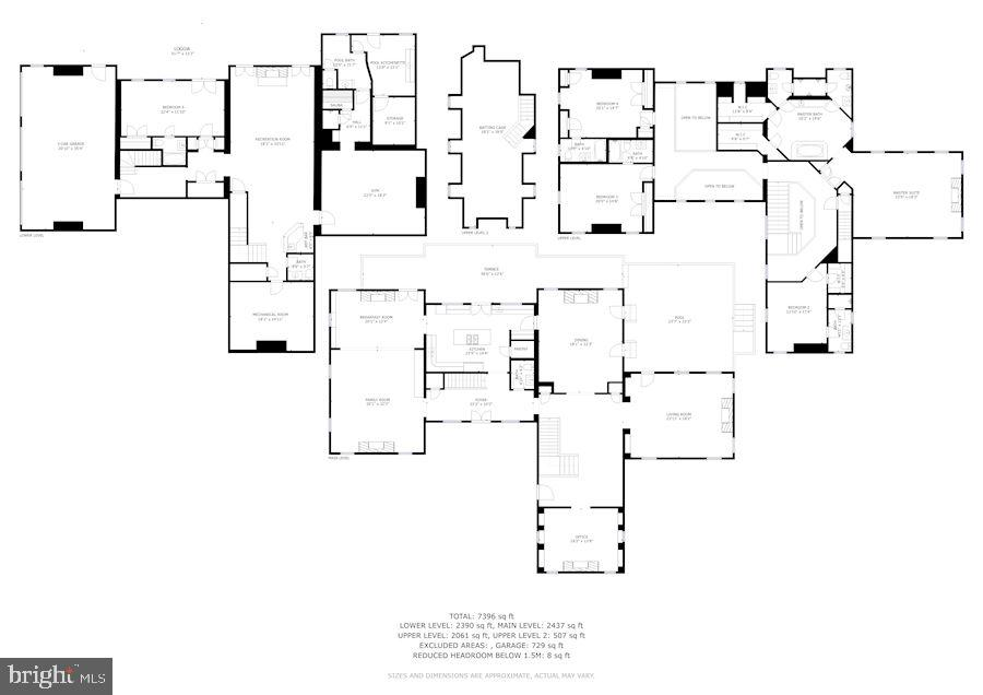 Floor Plans - 7709 CARLTON PL, MCLEAN